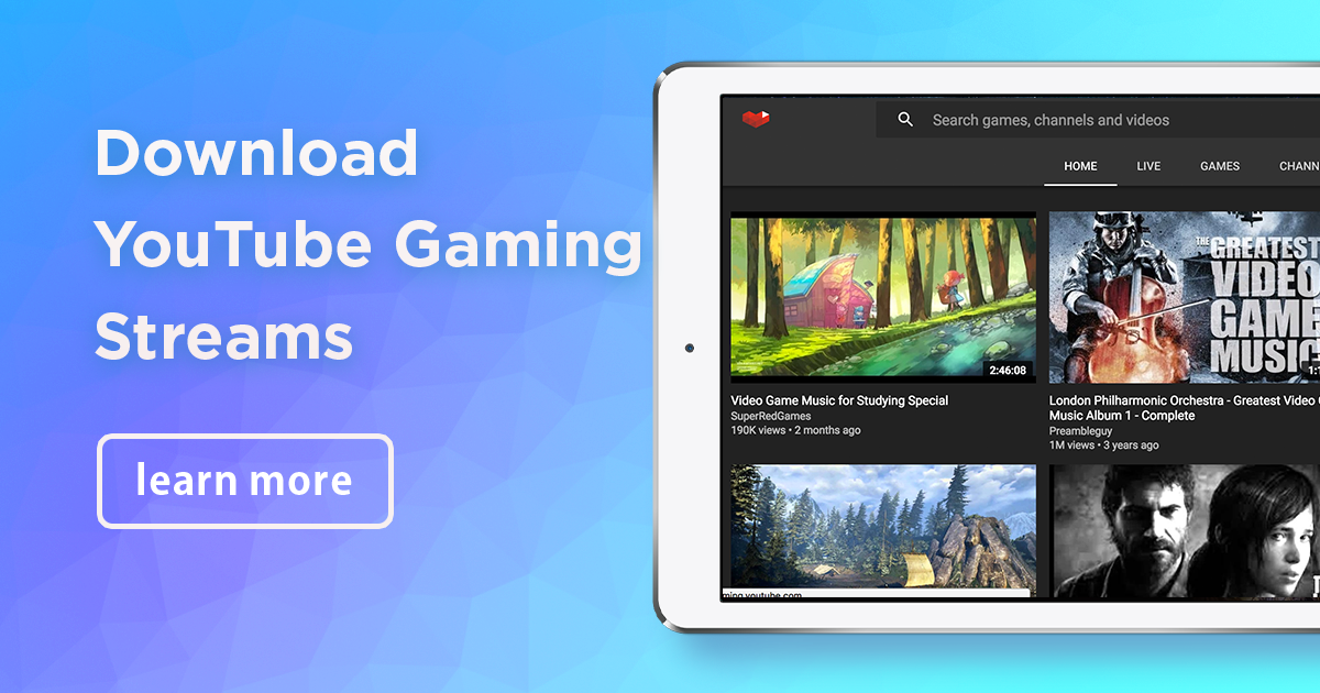 How to download game streams from YouTube Gaming | 4K Download