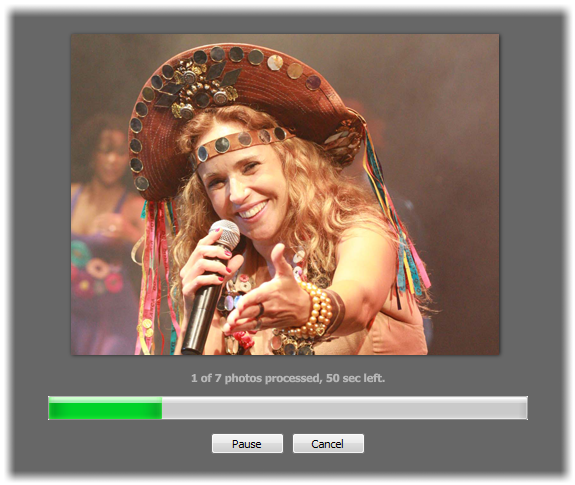 how to make a slideshow of your musicallys