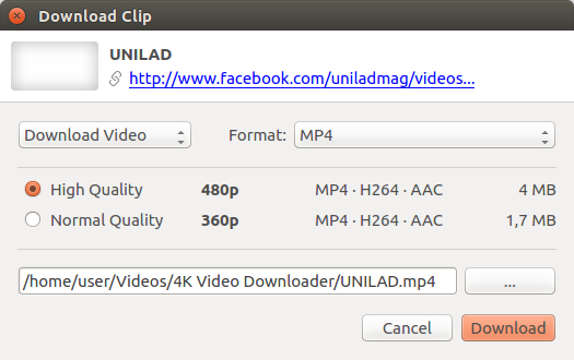 How to download Facebook video | 4K Download