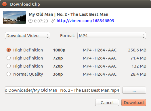 How to download video from Vimeo | 4K Download