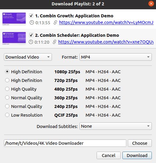 4k youtube video downloader app