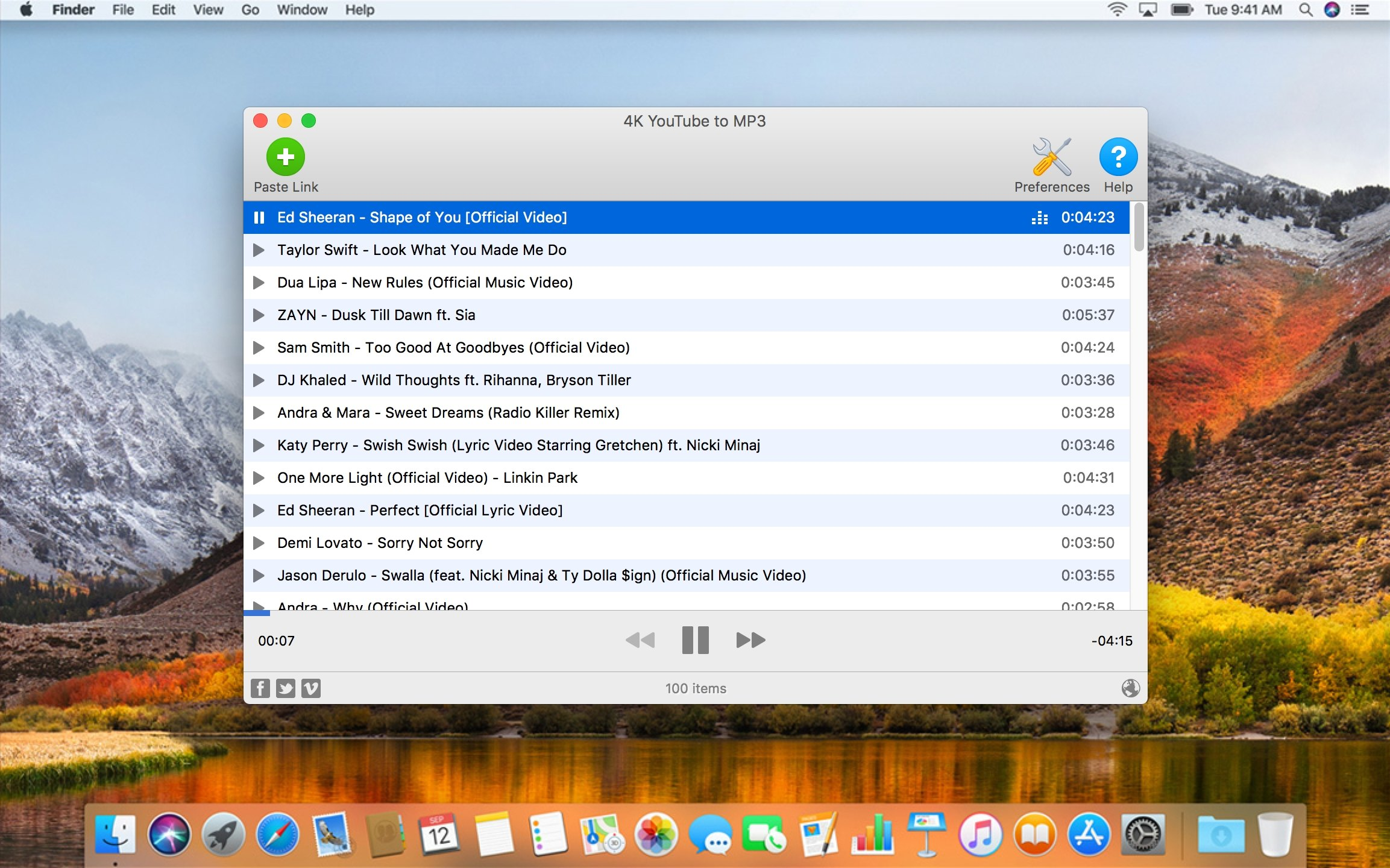 4K YouTube to MP3 Mac 破解版 在线音乐下载器-麦氪派