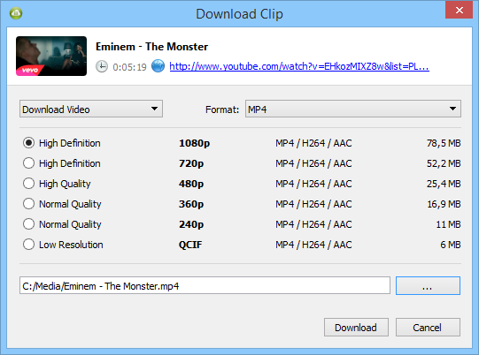 descargar videos en full hd 1080p de youtube